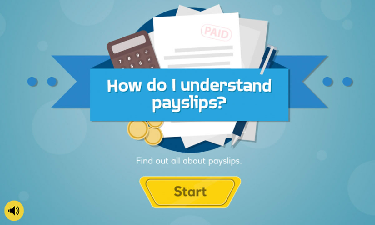 Interactive for How do I understand payslips and deductions?