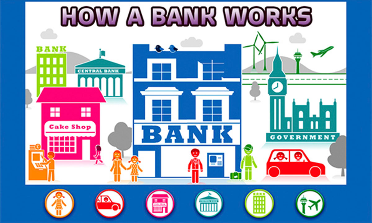 How a bank works game