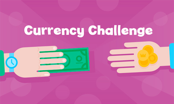 Currency Challenge interactive