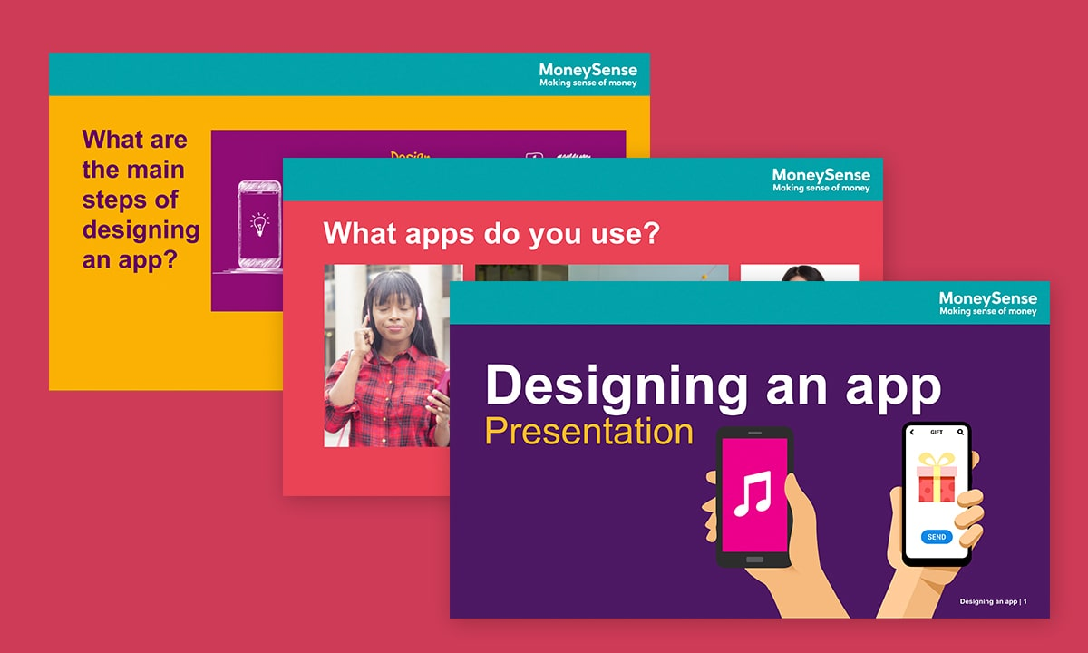 Presentation for Designing an app