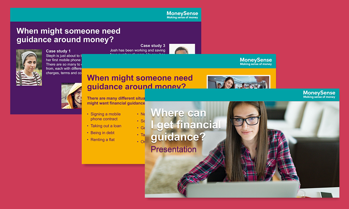 Presentation for Where can I get financial guidance?