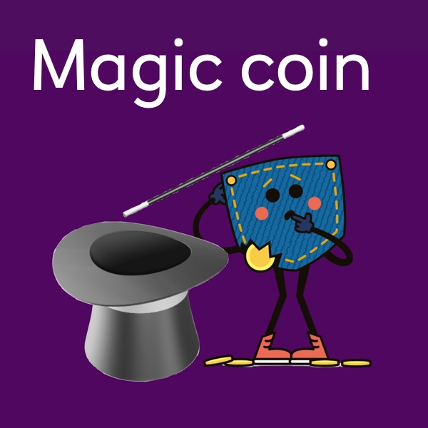 Magic coin activity sheet