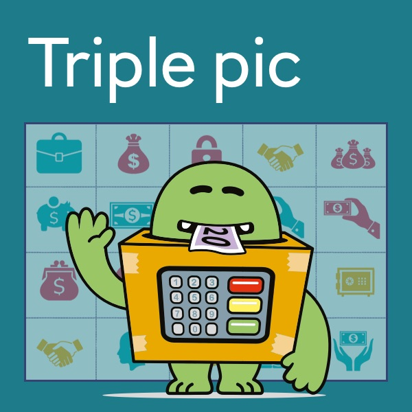 Triple pic activity sheet