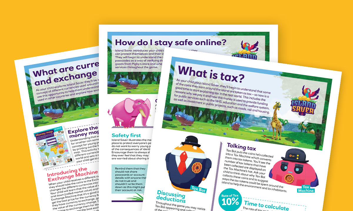 Activity sheets for What is Tax?