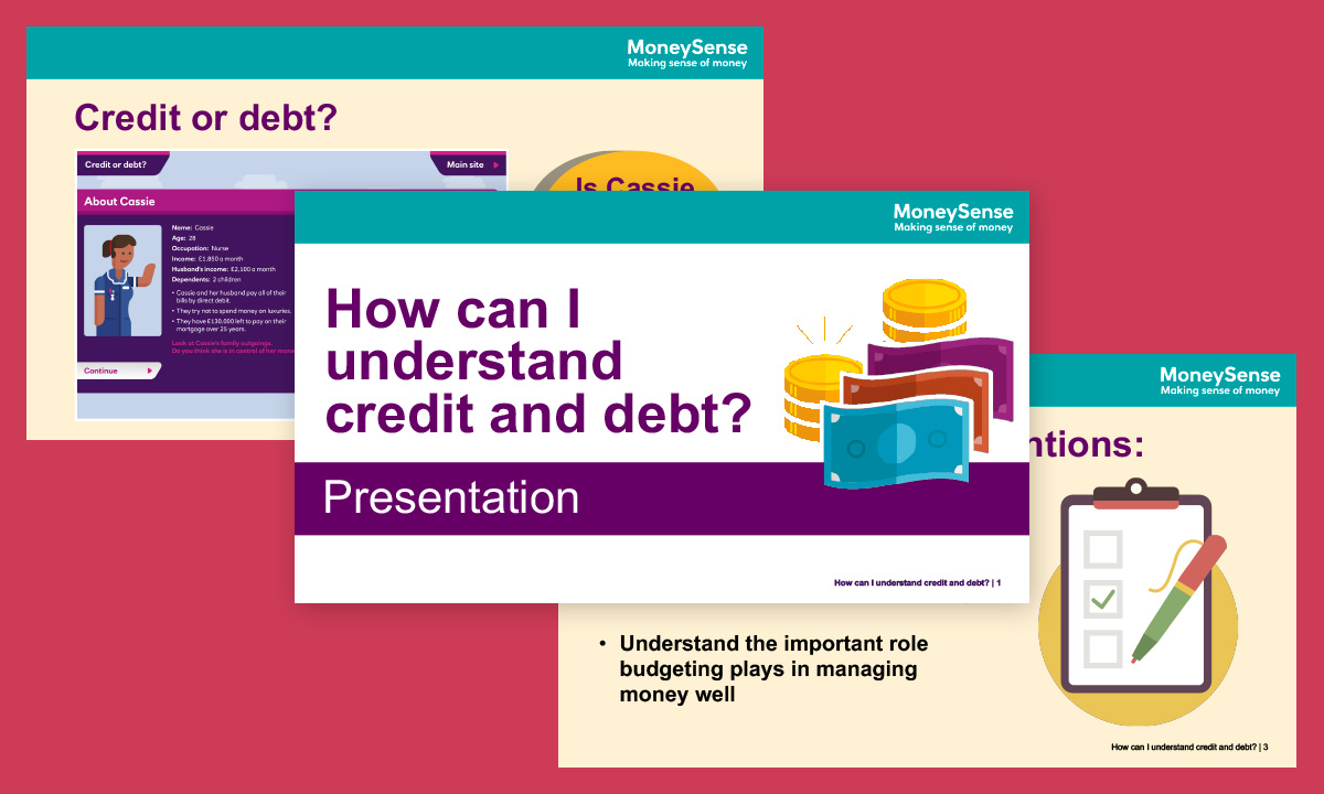 Presentation for How can I understand credit and debt?