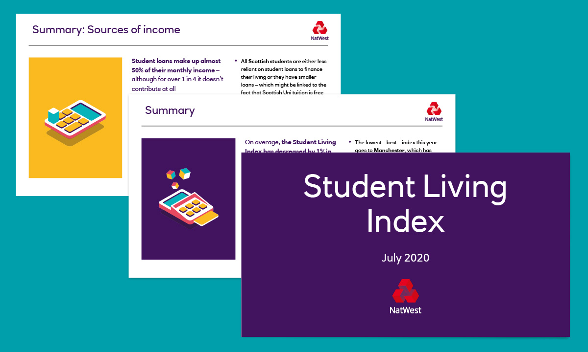 Student Living Index, July 2020